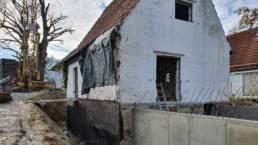 Außenarbeiten Komplettsanierung Bauprojekt in Feldafing