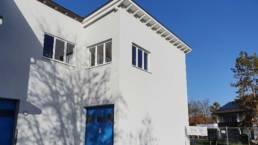 Außenansicht sanierte Fassade